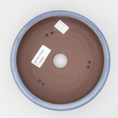 Ceramic bonsai bowl 16 x 16 x 4,5 cm, color blue - 3