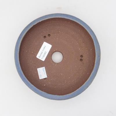 Ceramic bonsai bowl 16 x 16 x 5,5 cm, color blue - 3