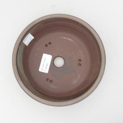 Ceramic bonsai bowl 17,5 x 17,5 x 5 cm, color gray - 3