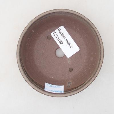 Ceramic bonsai bowl 10 x 105 x 3 cm, color brown - 3