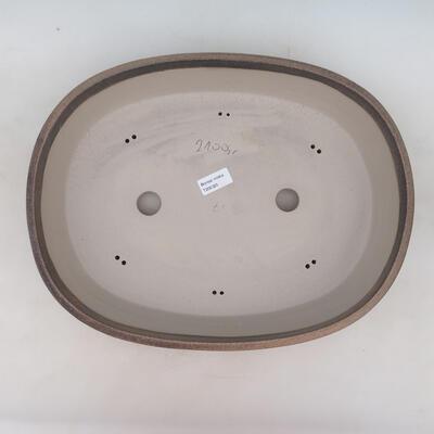Bonsai bowl 41 x 31 x 9.5 cm, beige color - 3