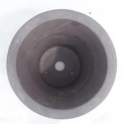 Bonsai bowl 20 x 20 x 20 cm, gray color - 3