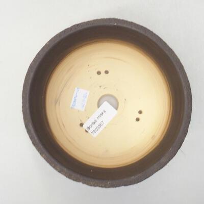 Ceramic bonsai bowl 14.5 x 14.5 x 9 cm, color cracked - 3