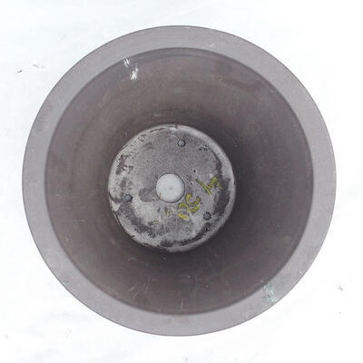 Bonsai bowl 25 x 25 x 22 cm, gray color - 3
