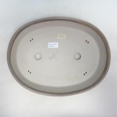 Bonsai bowl 36 x 27 x 8 cm, beige color - 3