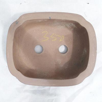 Bonsai bowl 31 x 25 x 11 cm, gray color - 3