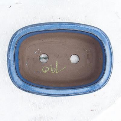 Bonsai bowl 23 x 16 x 7 cm, color blue - 3