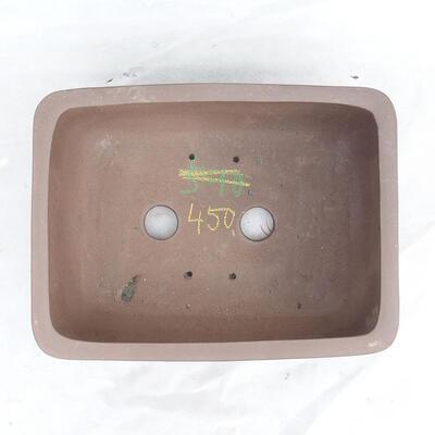 Bonsai bowl 34 x 26 x 13 cm, gray color - 3