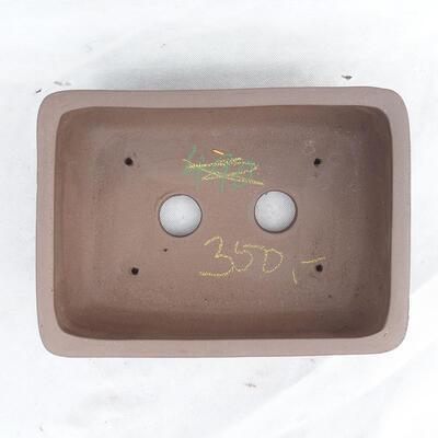 Bonsai bowl 29 x 21 x 9.5 cm, gray color - 3