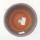 Ceramic bonsai bowl 12.5 x 12.5 x 13.5 cm, color green - 3/3