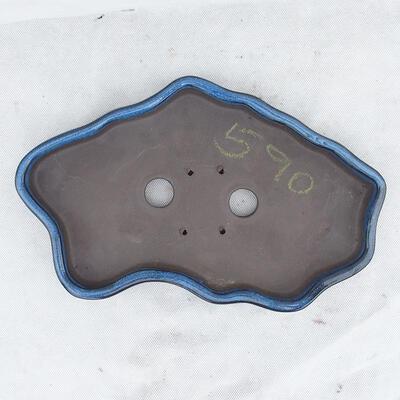 Bonsai bowl 31 x 19 x 3.5 cm, color blue - 3