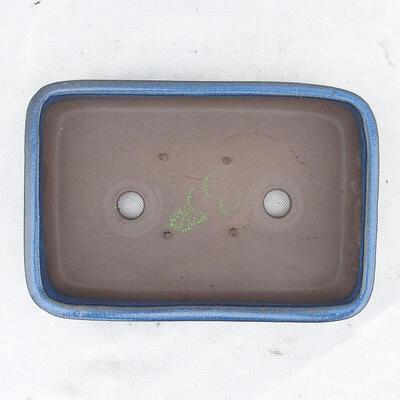 Bonsai bowl 25 x 17 x 5 cm, color blue - 3
