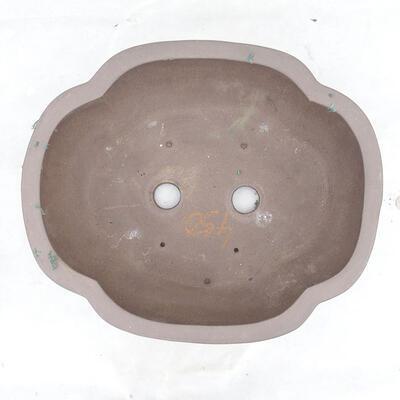 Bonsai bowl 40 x 34 x 15 cm, gray color - 3