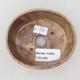Ceramic bonsai bowl 9.5 x 8.5 x 3.5 cm, beige color - 3/3