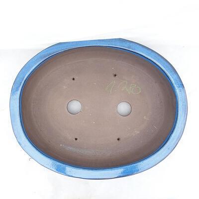 Bonsai bowl 51 x 41 x 10 cm, color blue - 3