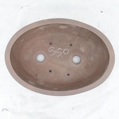 Bonsai bowl 31 x 22 x 10 cm, gray color - 3
