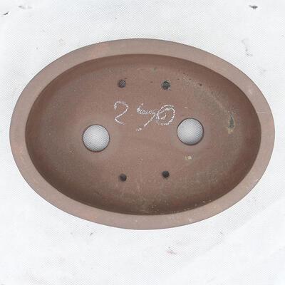 Bonsai bowl 26 x 19 x 7.5 cm, gray color - 3
