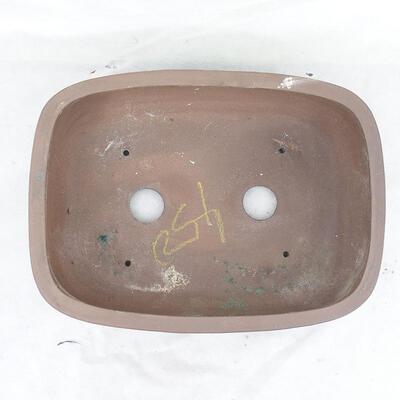Bonsai bowl 39 x 29 x 12 cm, gray color - 3