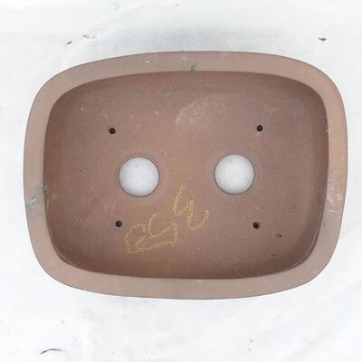 Bonsai bowl 31 x 24 x 9.5 cm, gray color - 3