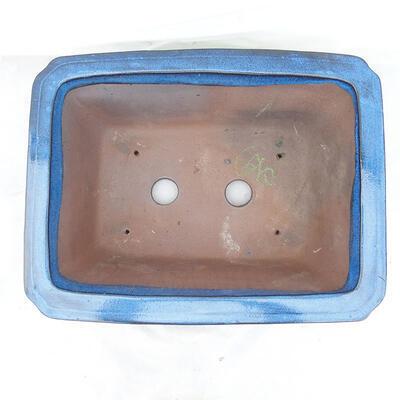 Bonsai bowl 42 x 32 x 17 cm, color blue - 3