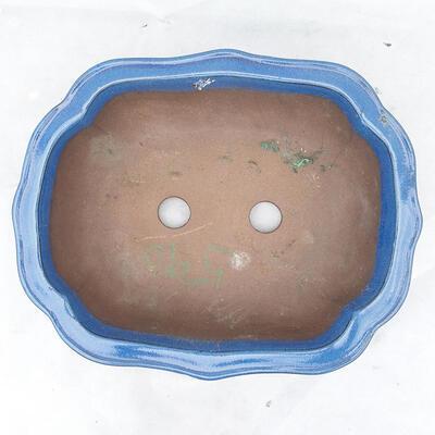 Bonsai bowl 39 x 32 x 12 cm, color blue - 3