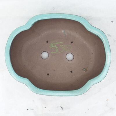 Bonsai bowl 35 x 27 x 11 cm, color green - 3