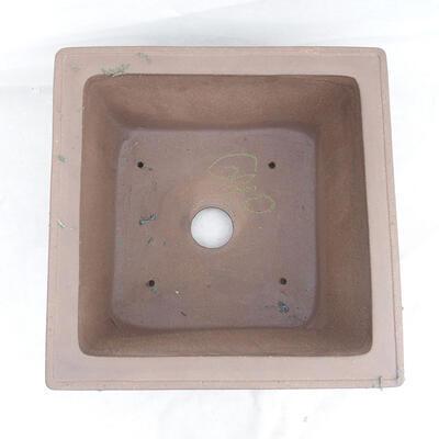 Bonsai bowl 45 x 45 x 26 cm, gray color - 3