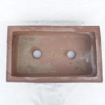 Bonsai bowl 49 x 29 x 13 cm, gray color - 3