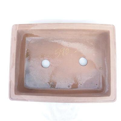 Bonsai bowl 50 x 38 x 14 cm, gray color - 3