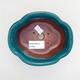 Ceramic bonsai bowl 13 x 11 x 5.5 cm, color green - 3/3