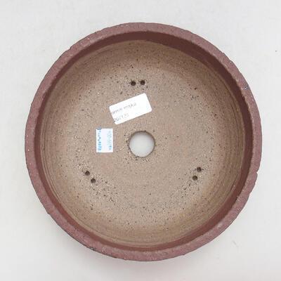 Ceramic bonsai bowl 19.5 x 19.5 x 7.5 cm, cracked color - 3