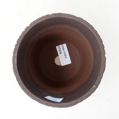 Ceramic bonsai bowl 12 x 12 x 13 cm, color cracked - 3