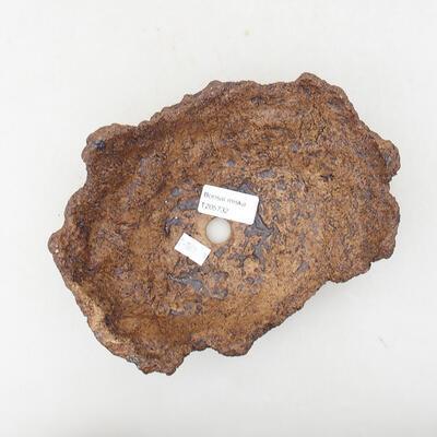 Ceramic shell 16 x 13 x 8 cm, gray color - 3