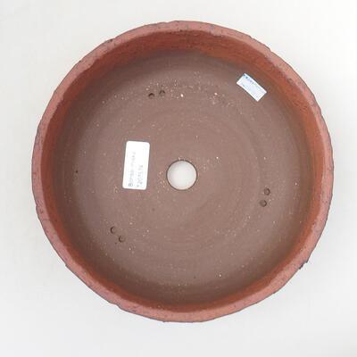 Ceramic bonsai bowl 21 x 21 x 8 cm, color cracked - 3