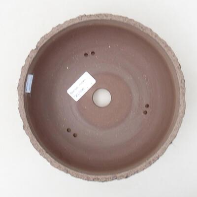 Ceramic bonsai bowl 20 x 20 x 6.5 cm, color cracked - 3