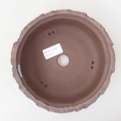 Ceramic bonsai bowl 17 x 17 x 8 cm, color cracked - 3