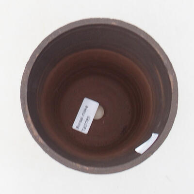 Ceramic bonsai bowl 13.5 x 13.5 x 15.5 cm, color cracked - 3