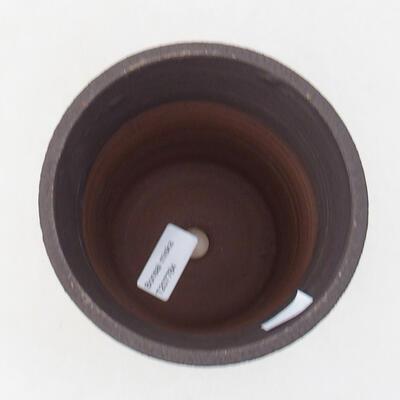 Ceramic bonsai bowl 13.5 x 13.5 x 15 cm, cracked color - 3