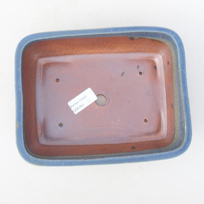 Ceramic bonsai bowl 21 x 16 x 6.5 cm, color blue - 3