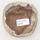 Ceramic shell 8 x 7 x 5 cm, color brown-green - 3/3