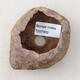 Ceramic Shell 5.5 x 4.5 x 5.5 cm, brown-pink color - 3/3