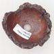 Ceramic shell 7.5 x 8 x 5 cm, color gray brown - 3/3