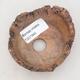 Ceramic shell 7.5 x 7 x 4.5 cm, gray-brown - 3/3