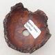 Ceramic Shell 8 x 7.5 x 5 cm, gray-brown - 3/3