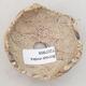 Ceramic shell 7 x 7 x 5.5 cm, gray-brown - 3/3