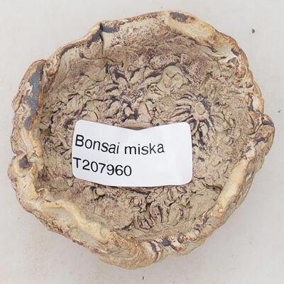 Ceramic Shell 5.5 x 6 x 4.5 cm, gray-brown - 3