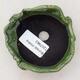 Ceramic shell 7.5 x 7 x 6 cm, color green - 3/3