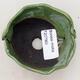 Ceramic shell 7.5 x 7.5 x 5 cm, color green - 3/3
