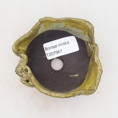 Ceramic shell 8 x 7 x 5.5 cm, color yellow - 3