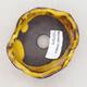 Ceramic shell 7.5 x 7.5 x 5 cm, yellow color - 3/3